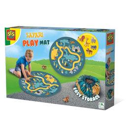 SES Creative Safari speelmat en opbergzak 2 in 1
