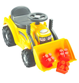 écoiffier Abrick Maxi Walking Tractor with Frontloader