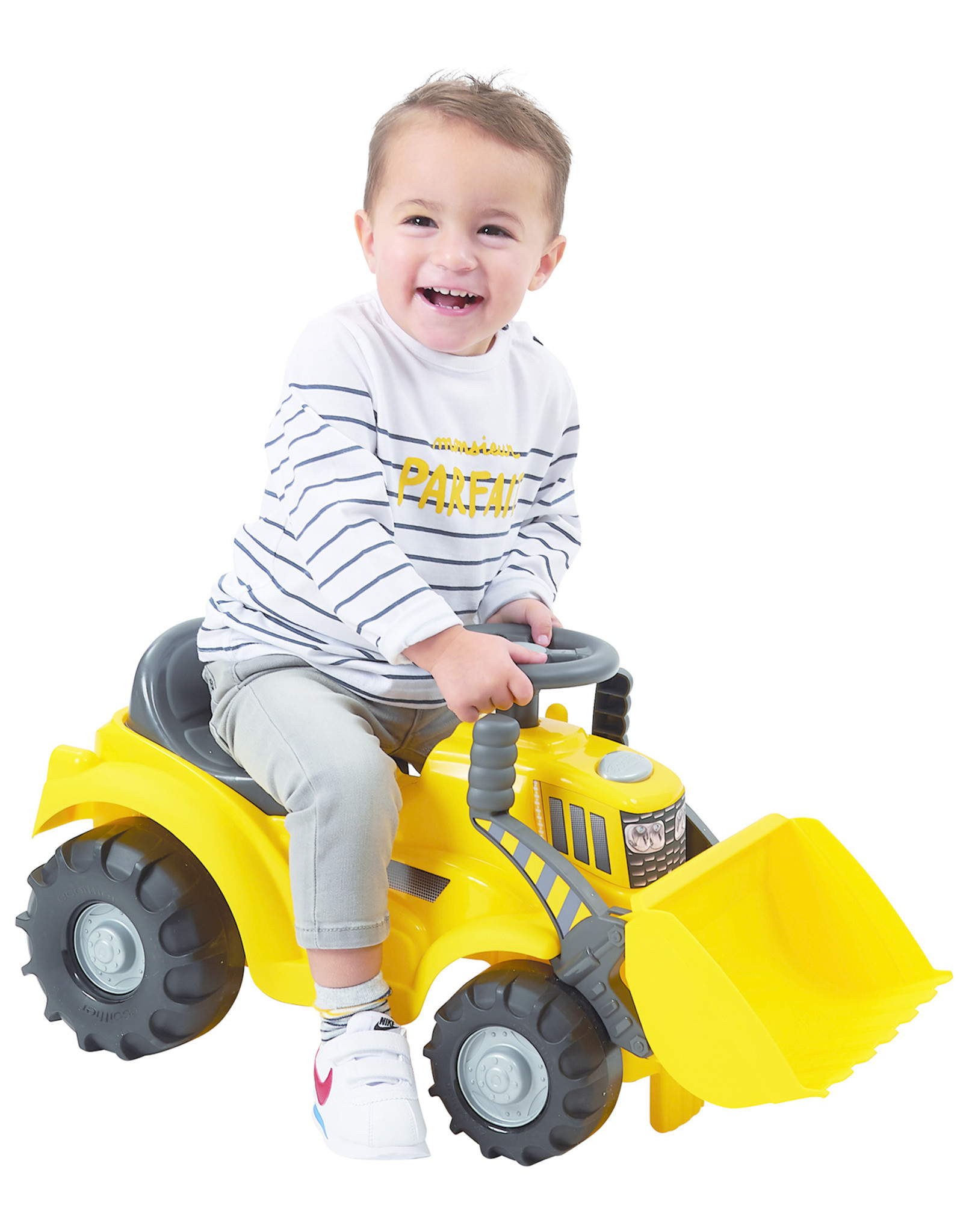 écoiffier Abrick Maxi Walking Traktor mit Frontlader