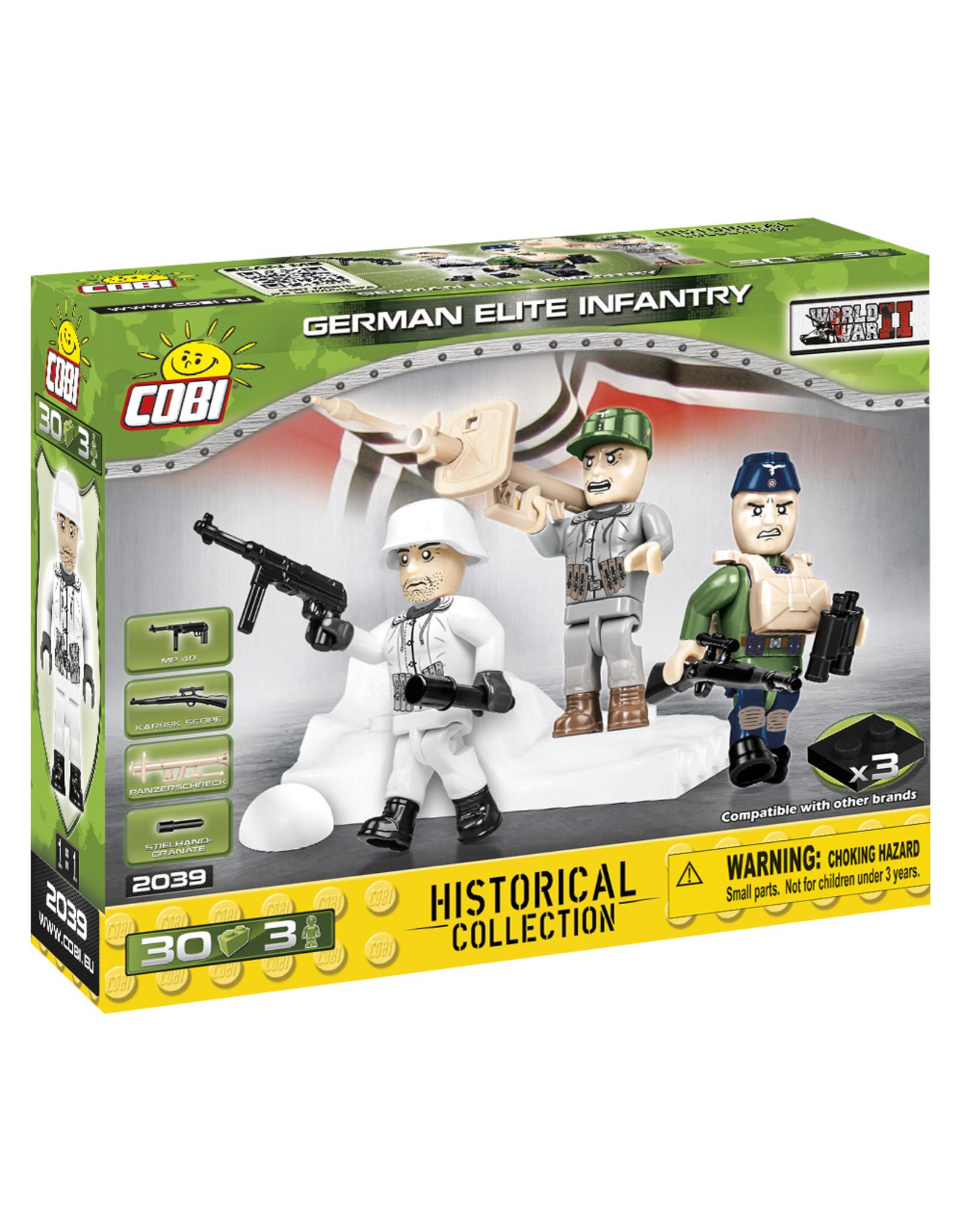 COBI COBI WW2  2039 - Figures German Elite Troops