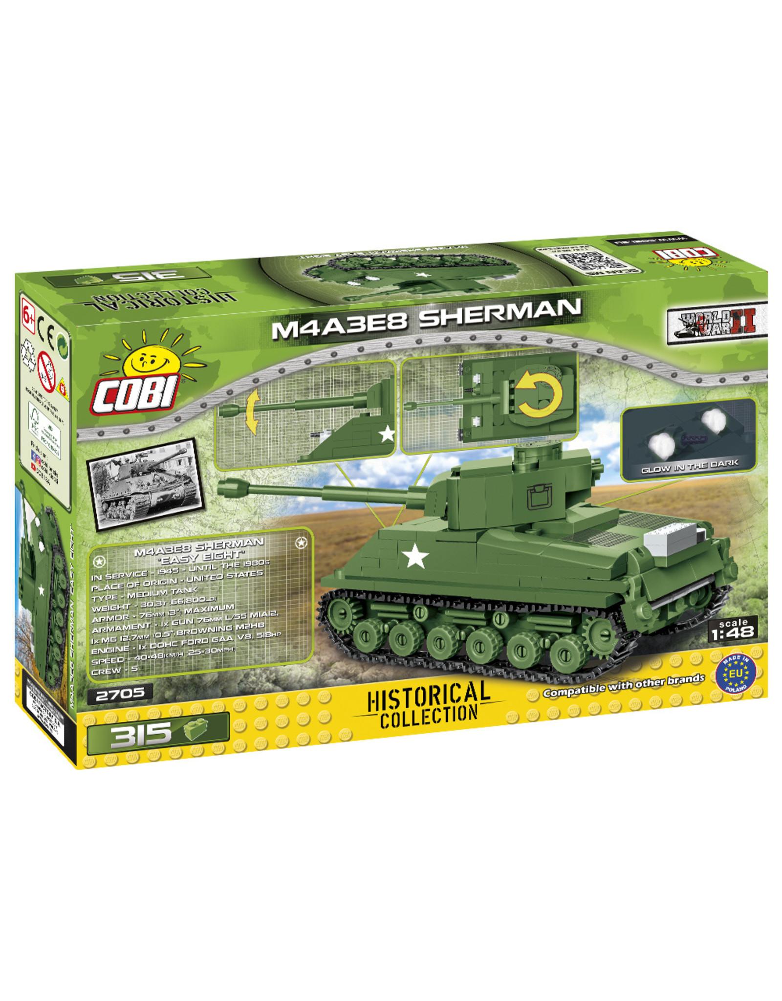 COBI Cobi WW2 2705 - M4A3E8 Sherman