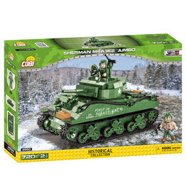 COBI COBI WW2 2550 - M4A3E2 Sherman Jumbo