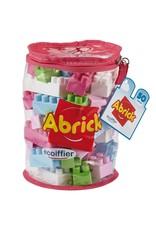 écoiffier Abrick Bouwblokken Roze 50-delig