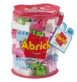 écoiffier Abrick Building Blocks Pink 50 -piece