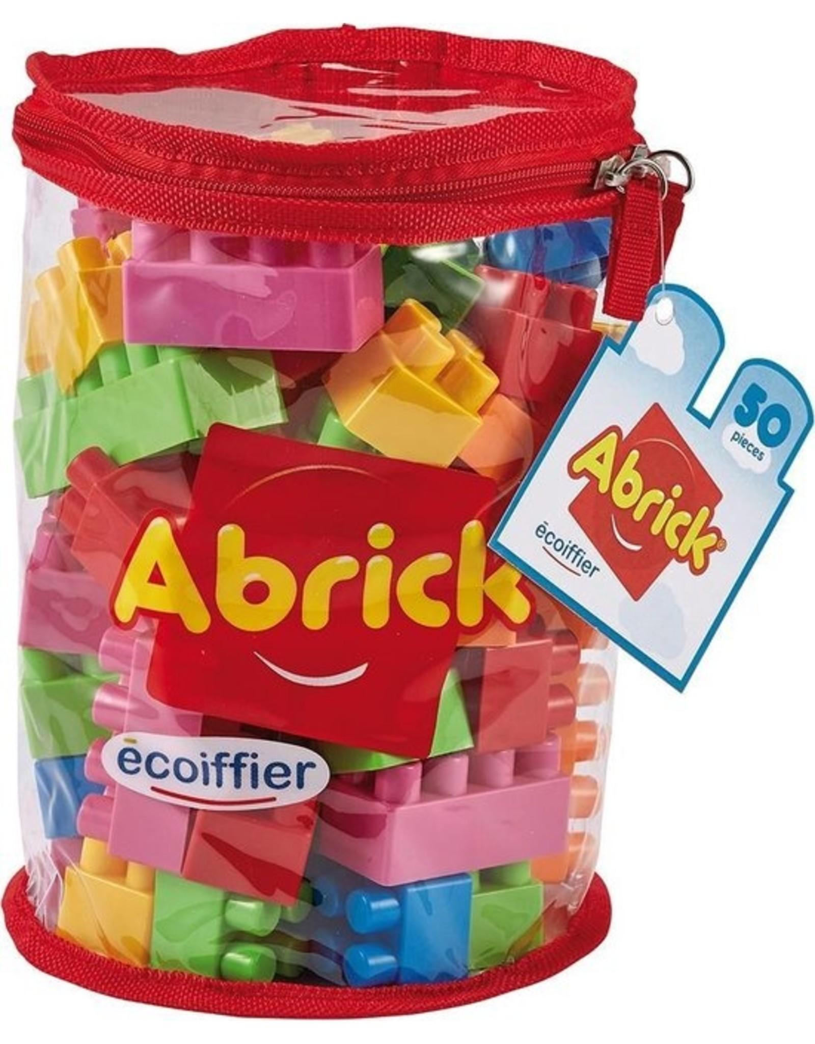 écoiffier Abrick Bouwblokken 50-delig