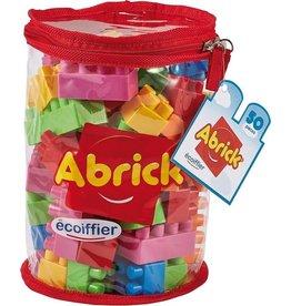 écoiffier Abrick Building Blocks 50 -piece