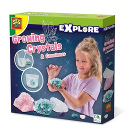 SES Creative Growing crystals and gemstones