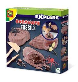 SES Creative Fossilien ausgraben