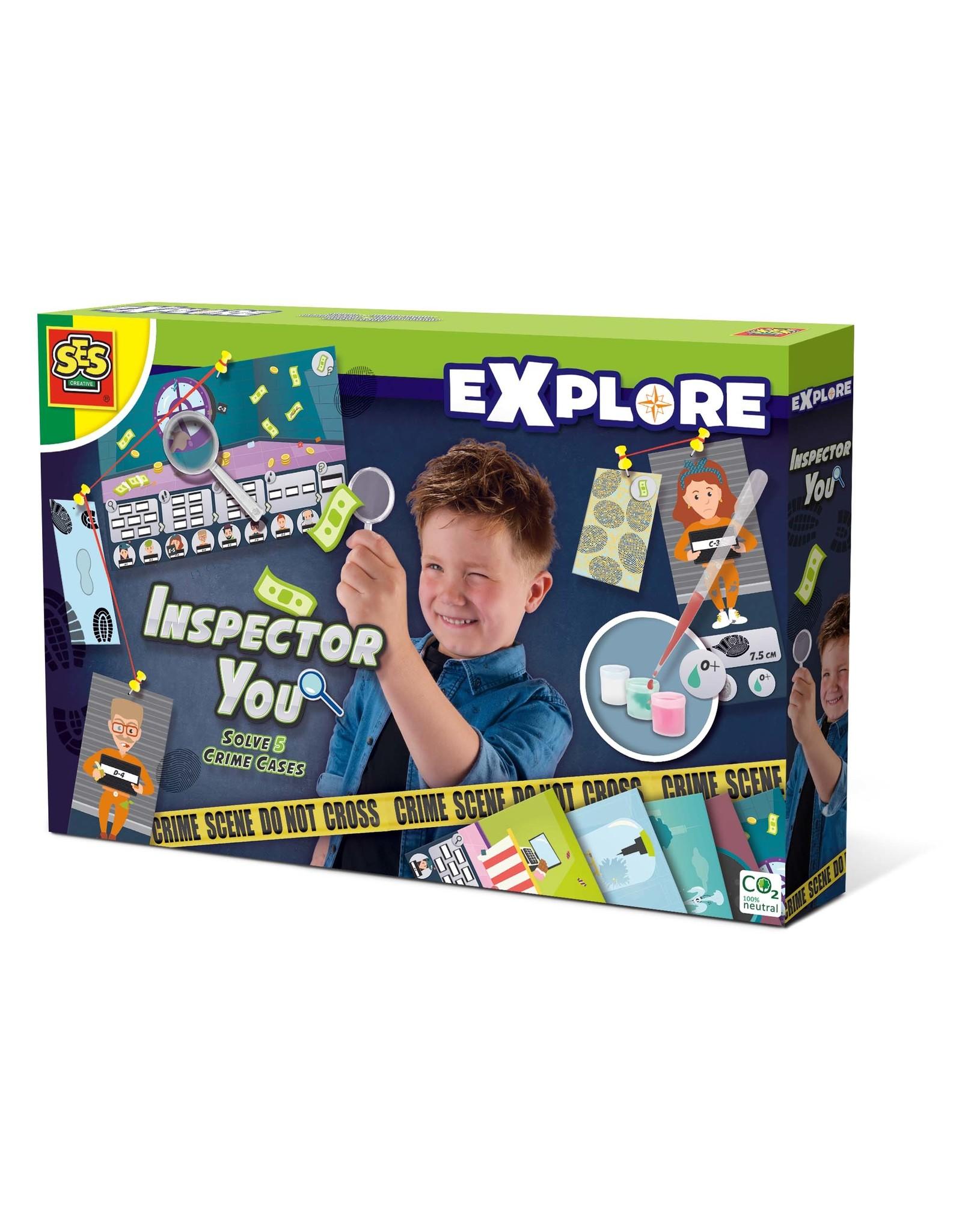 SES Creative Explore - Inspector You - Los vijf misdaadzaken op