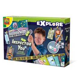 SES Creative Inspector You - Solve five crime cases