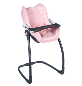 Smoby Quinny Seat + High Chair for dolls - pink