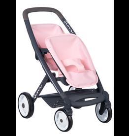 Smoby Quinny Tweeling kinderwagen - roze