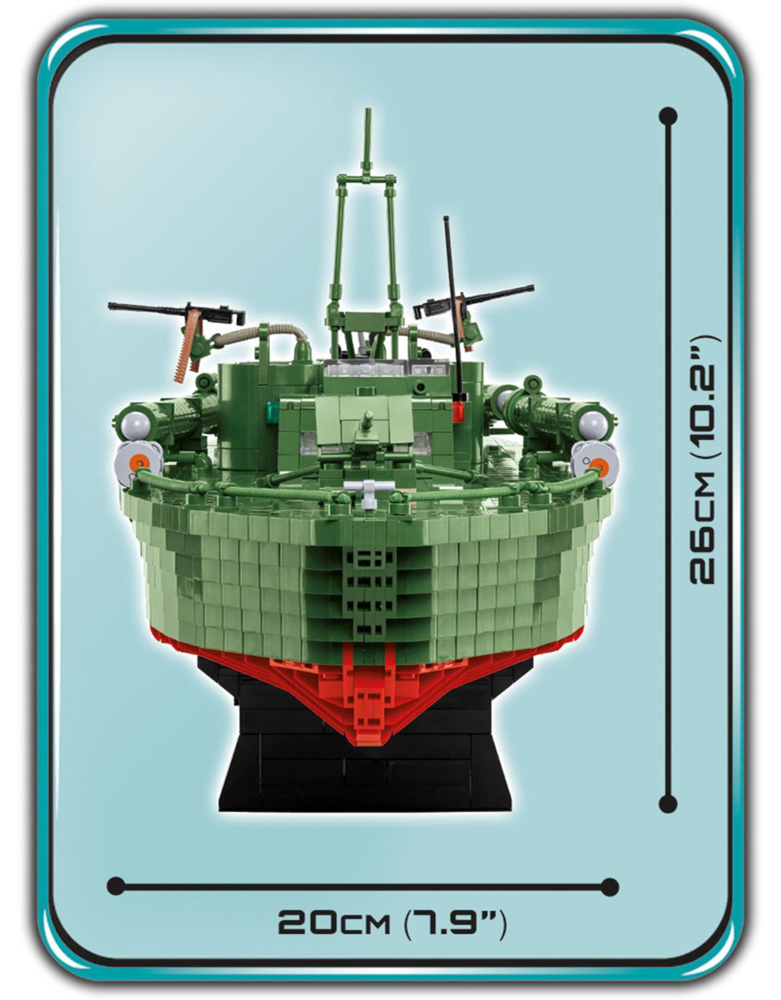 COBI COBI  WW2 4825 - Torpedo Boot PT-1
