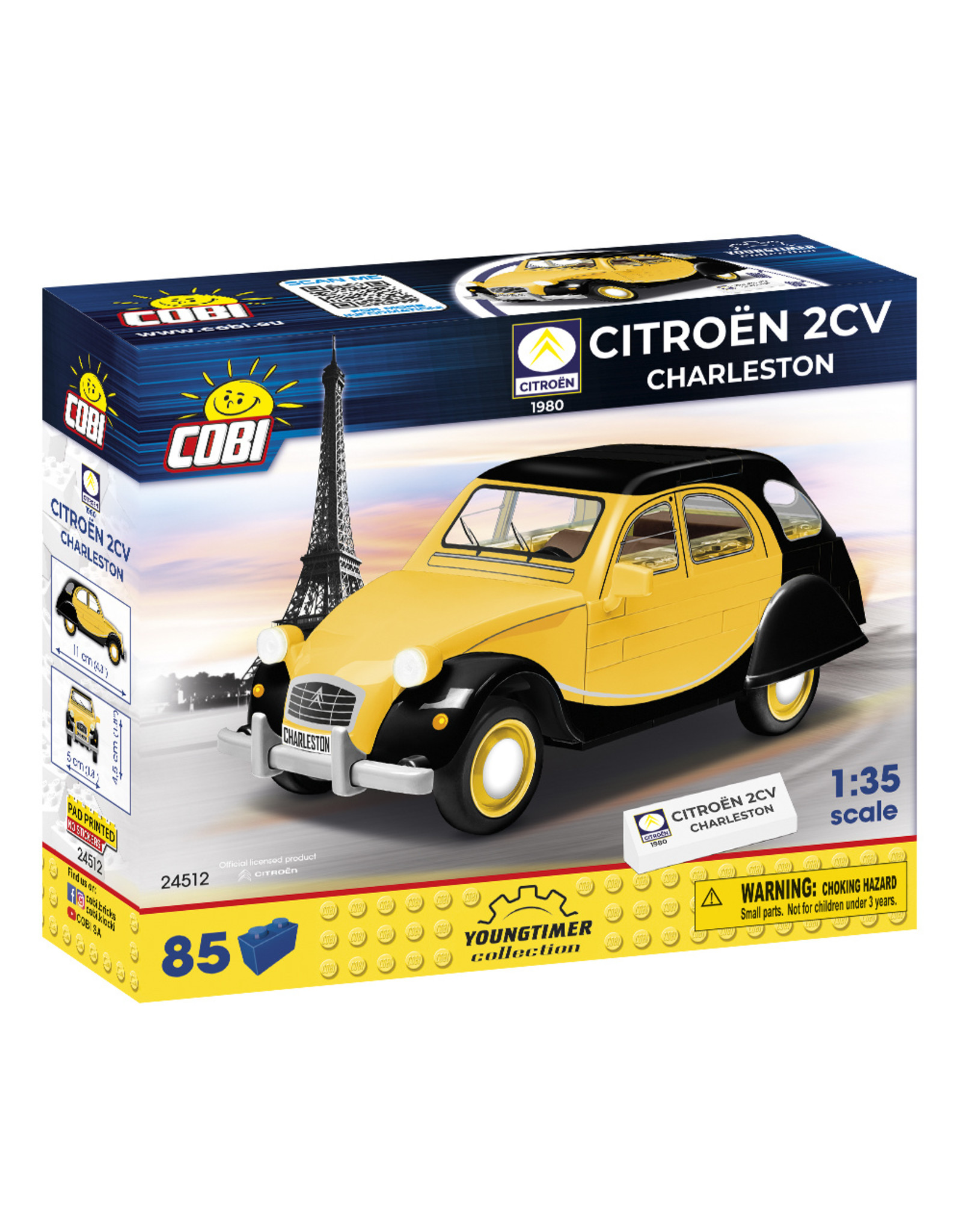 COBI COBI 24511 - Citroën 2CV  Charleston
