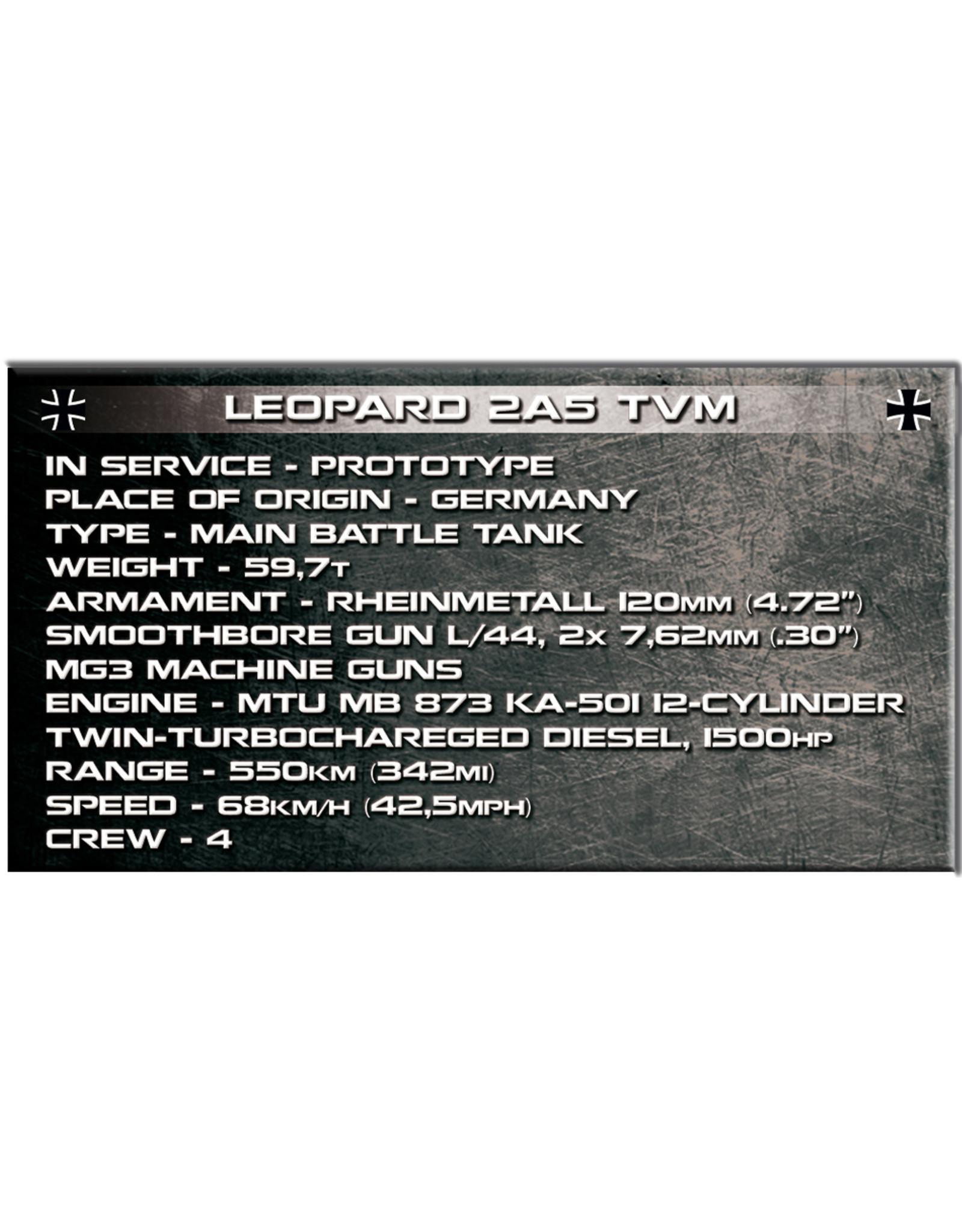 COBI COBI  2620 Leopard 2A5 TVM