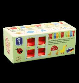Feuchtmann  KNETO Windows Clay - bar 150 grams - red