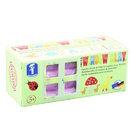 Feuchtmann  KNETO Windows Clay - bar 150 grams - pink