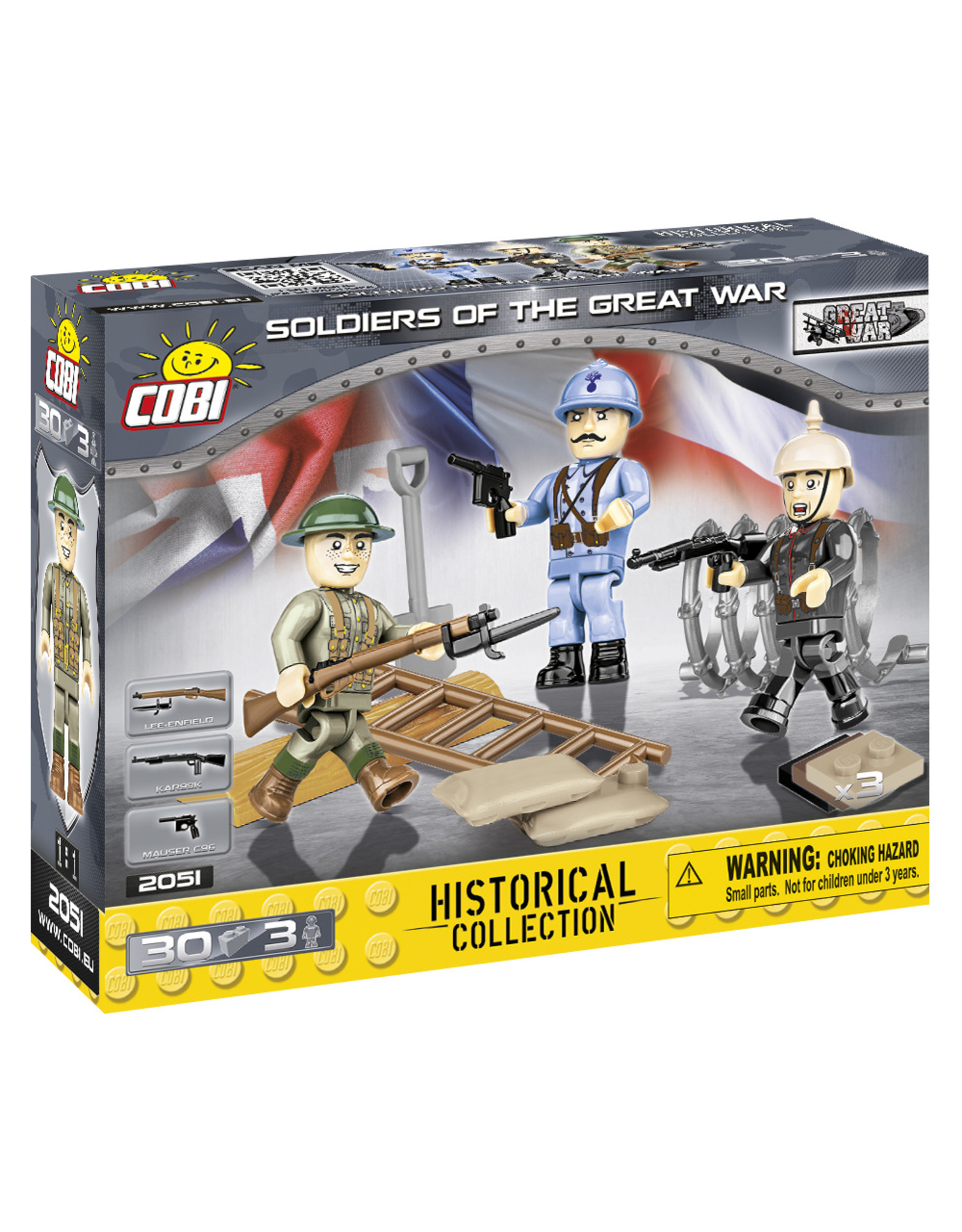 COBI COBI WW1 2051 Soldaten Great War
