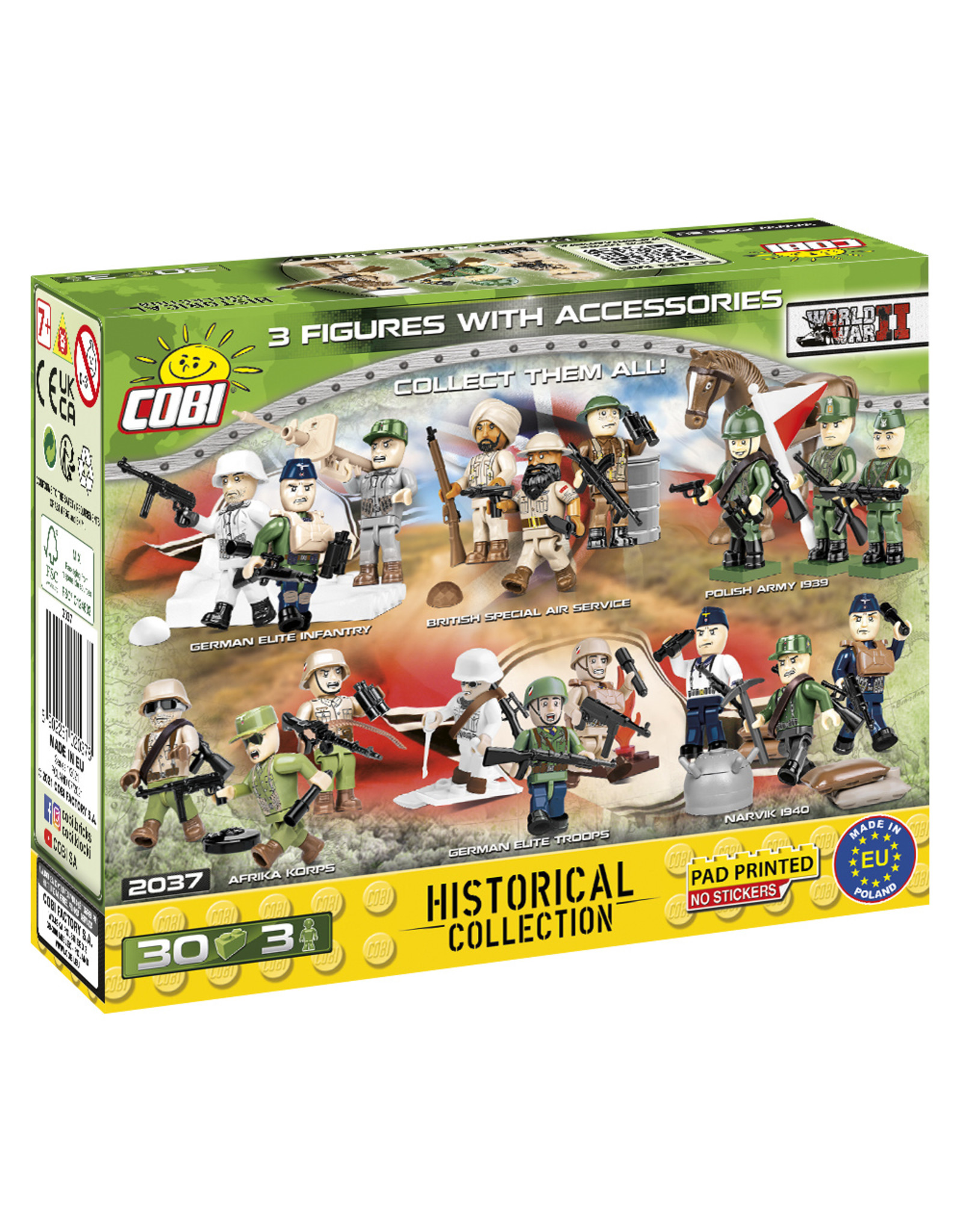 COBI COBI WW2  2037- Soldaten French Armed forces