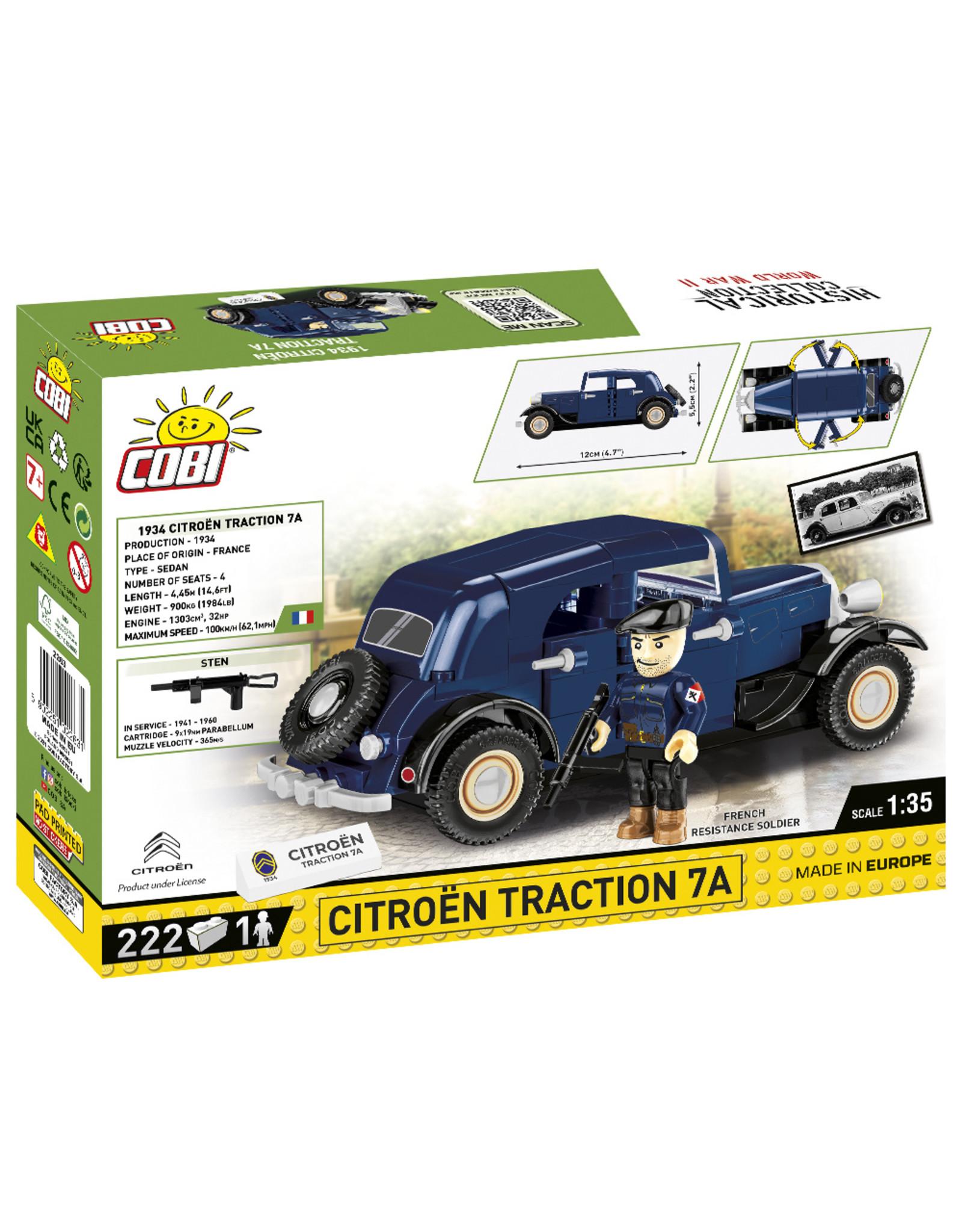 COBI COBI  WW2 2263 - Citroën Traction 7A