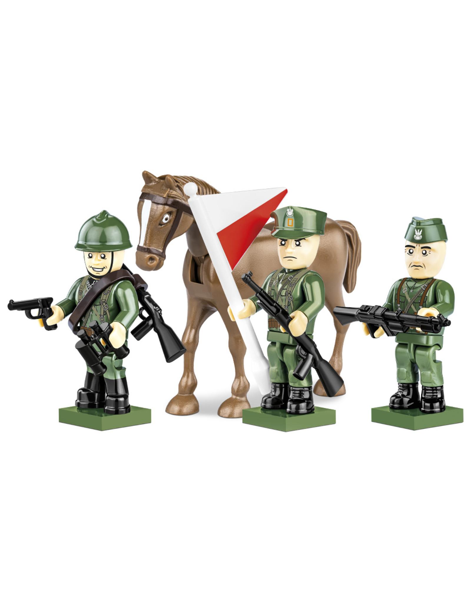 COBI COBI WW2  2049 - Soldaten Polish Army 1939
