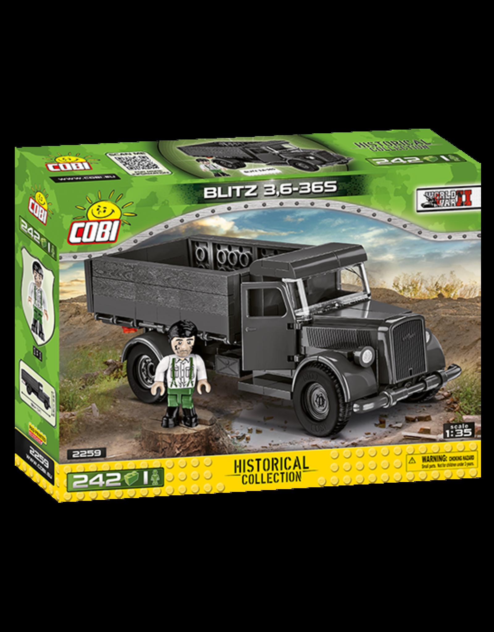 COBI COBI WW2 2259 - Opel Blitz 3,6 36S