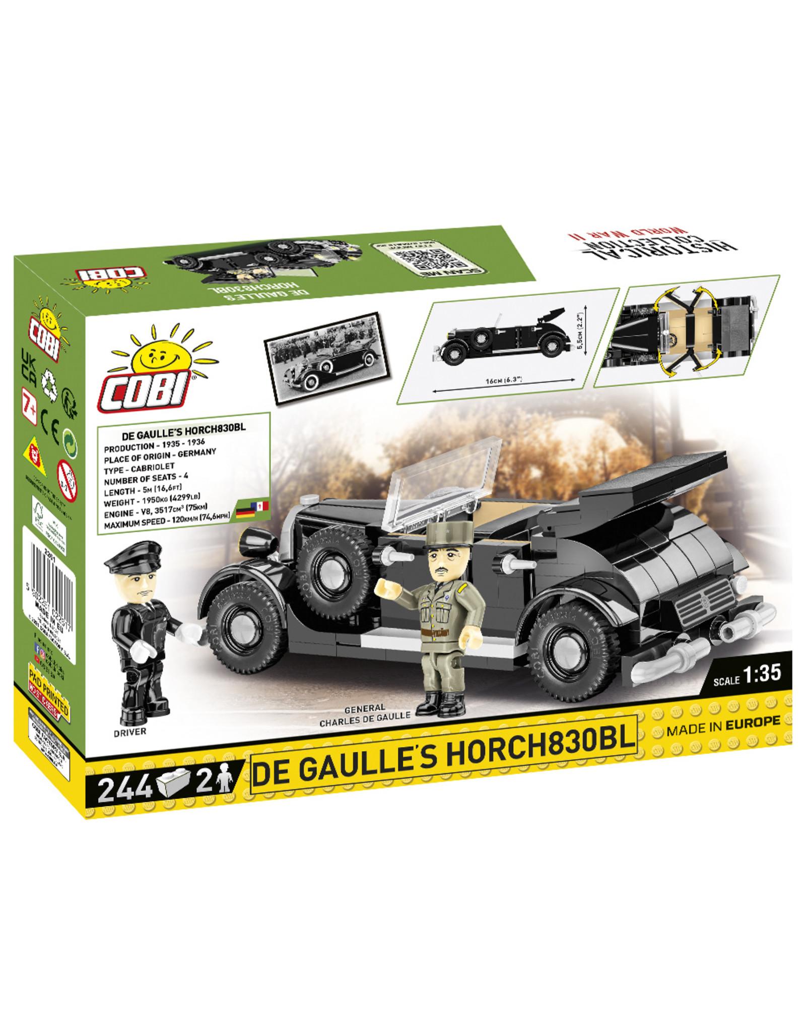 COBI COBI  WW2 2261 De Gaulle's Horch830BL