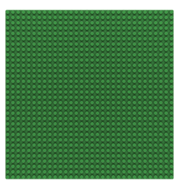 Sluban Sluban Basisplaat 32x32 groen