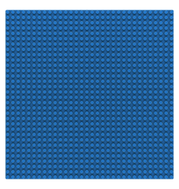 Sluban Sluban Basisplaat 32x32 blauw