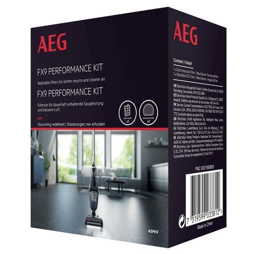 AEG FX9 filterset (9001690800)