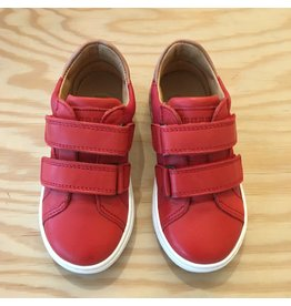 BISGAARD BISGAARD 41808.119 VELCRO SHOES RED