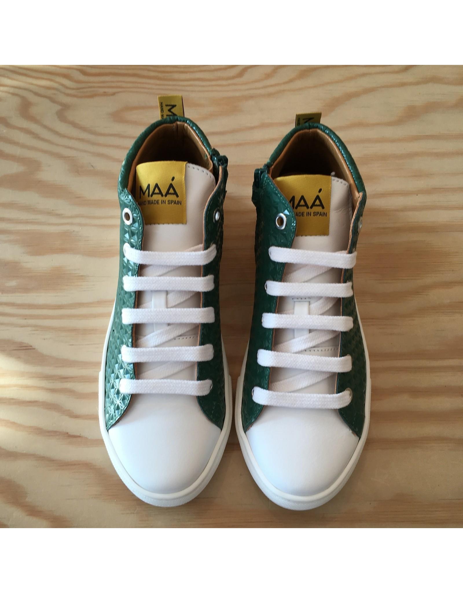 MAA MAA C355 ELLIS GREEN TECHNIC WHITE