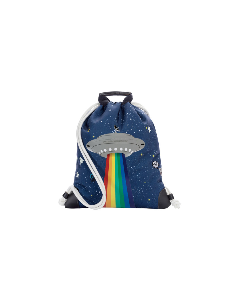 JEUNE PREMIER JEUNE PREMIER CITY BAG SPACE RAINBOW