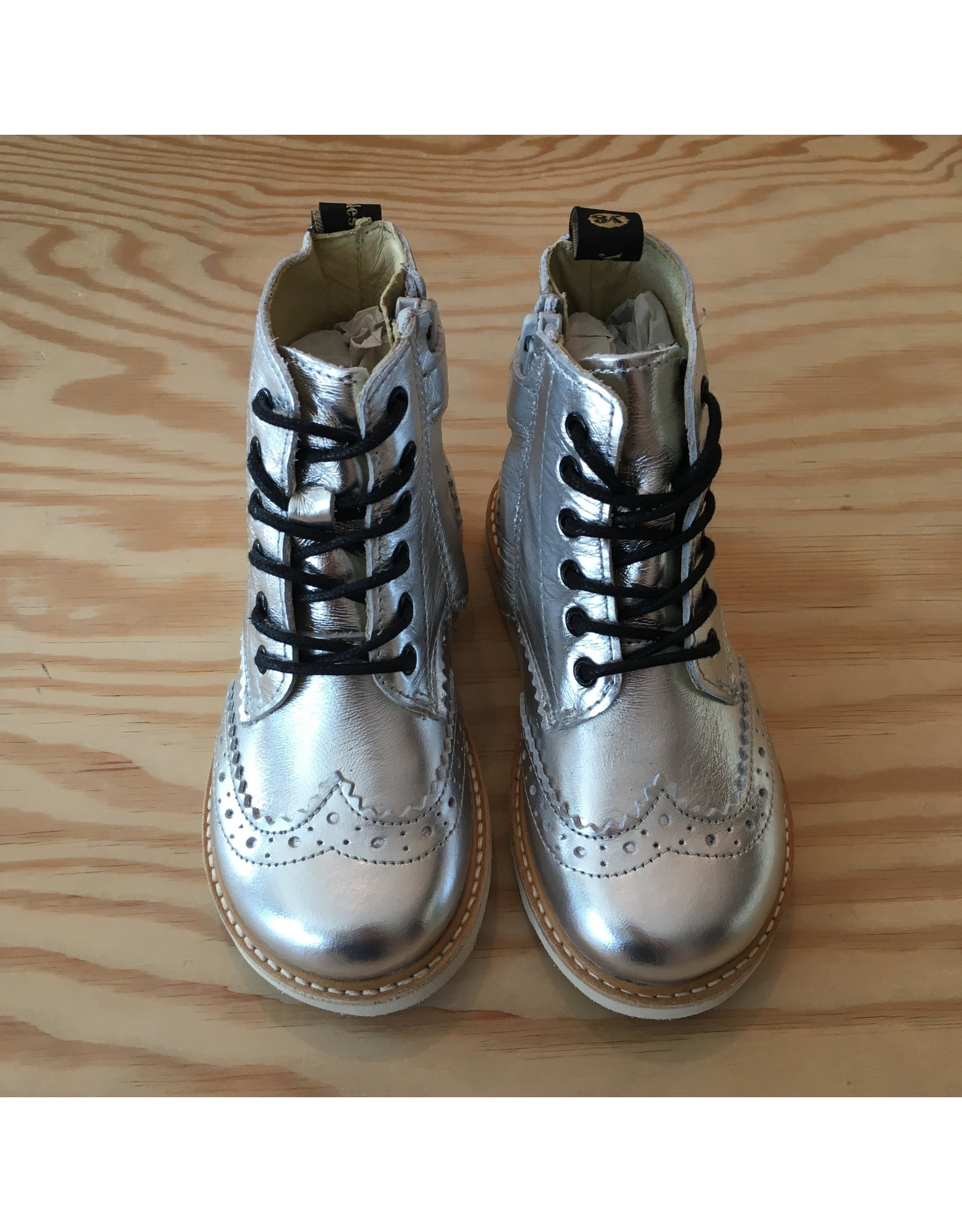 YOUNG SOLES YOUNG SOLES SIDNEY BROGUES SILVER
