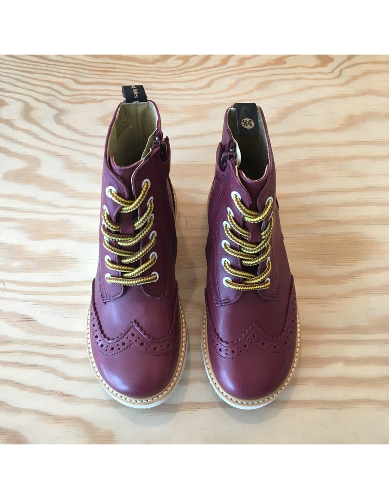 YOUNG SOLES YOUNG SOLES SIDNEY BROGUES CHERRY