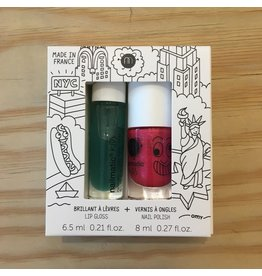 NAILMATIC Copy of NAILMATIC ROLLETTE FRAISE + VERNIS A L'EAU COOKIE 201 HOLIDAYS