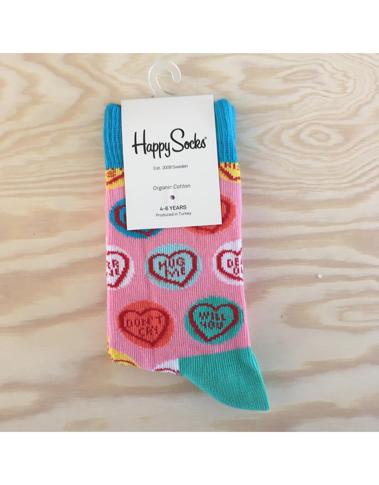 HAPPY SOCKS HAPPY SOCKS KSWH01-3000 SWEETHEART 4-6Y