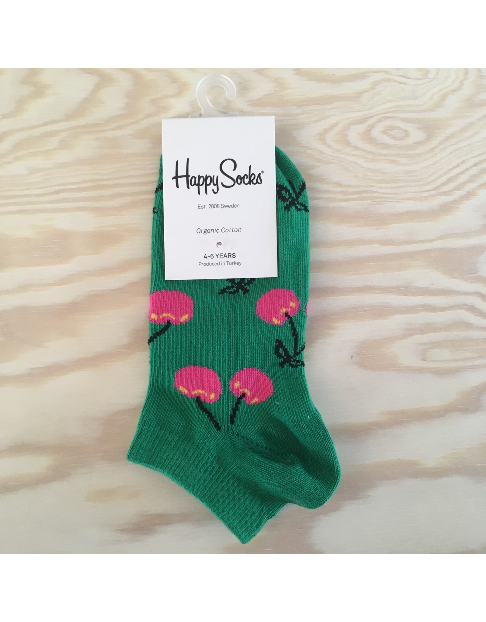 HAPPY SOCKS HAPPY SOCKS KCHE05-7300 CHERRY LOW SOCK 7-9Y