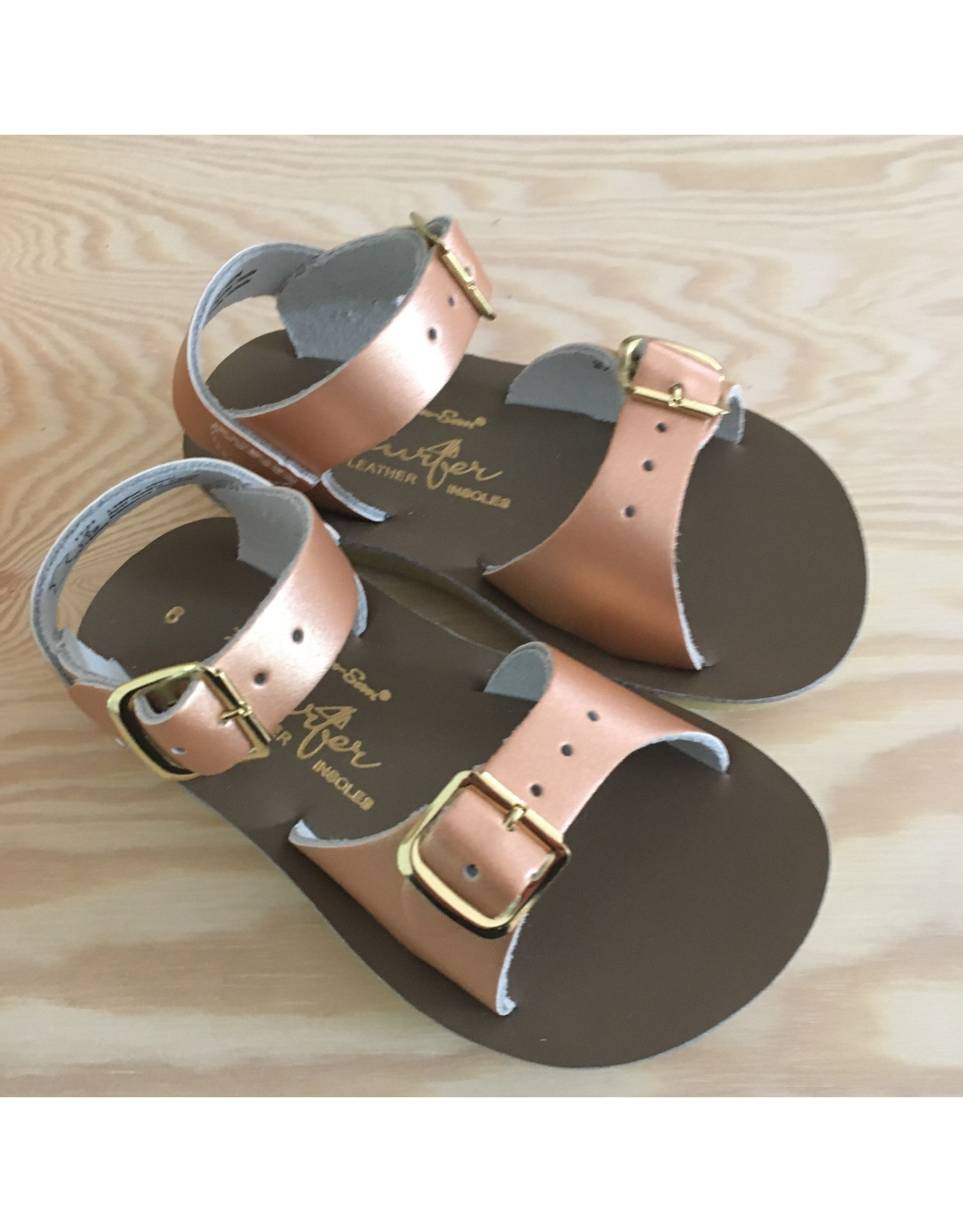 SALT-WATER SANDALS CLASSICS! SALT-WATER SANDALS SURFER ROSE GOLD