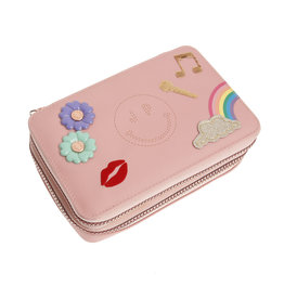 JEUNE PREMIER JEUNE PREMIER PENCIL BOX FILLED LADY GADGET PINK