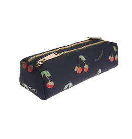 JEUNE PREMIER JEUNE PREMIER PENCIL CASE DOUBLE LOVE CHERRIES