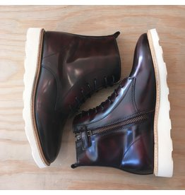 YOUNG SOLES YOUNG SOLES RODNEY HIGH SHINE  OXBLOOD