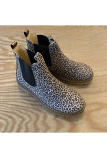 ANGULUS ANGULUS 2192-401 CHELSEA BOOT LEOPARD/GOLD/BROWN