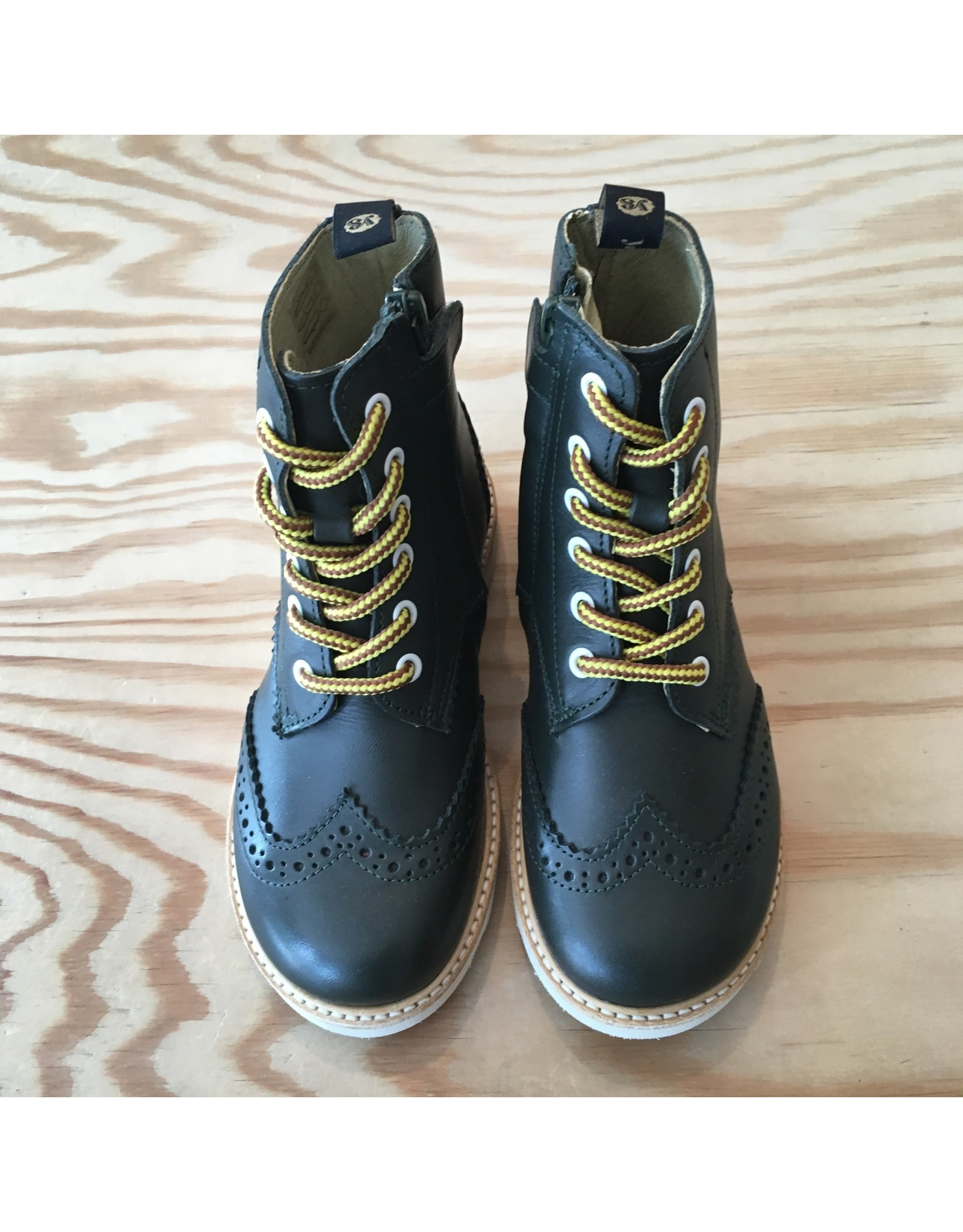 YOUNG SOLES YOUNG SOLES SIDNEY BROGUES HUNTER GREEN