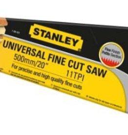 "Stanley Hardpoint Saw 20"" 11TPI - Fine Cut"