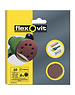 Flexovit Flexovit 125mm Sanding Discs X6 Medium velcro