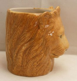 Quail Lion Pencil Pot