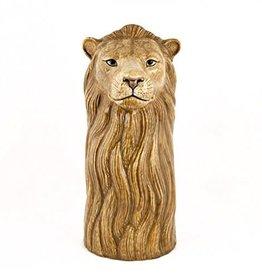 Quail Lion Flower Vase