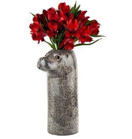 Quail Seal Flower Vase