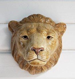 Quail Lion Wall Vase